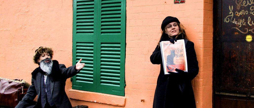 Frédé et Suzanne à la butte montmartre