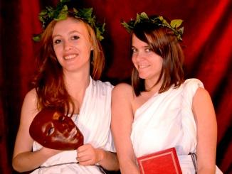Les deux Muses, Thalie et Clio