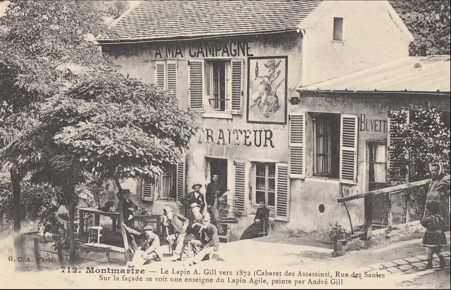 O Manger Montmartre Histoires2muses
